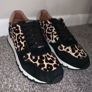 Caslon leopard print sneakers